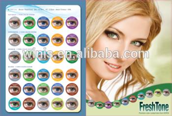 Coloured lens a trending fashion