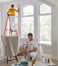 Risks involved in painting also in hiring the worker